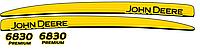 Комплект наклеек на трактор John Deere 6830 premium