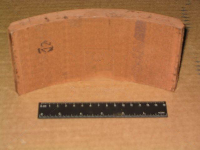 Накладка тормозная МАЗ 500 передн. (Трибо). 500-3501105