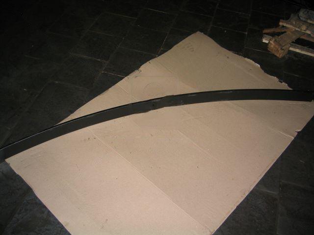 Лист рессоры коренной №1 передней МАЗ 2100мм 7-ми листовую (Чусовая). 64222-2902101