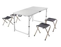 Комплект стол и 4 табурета