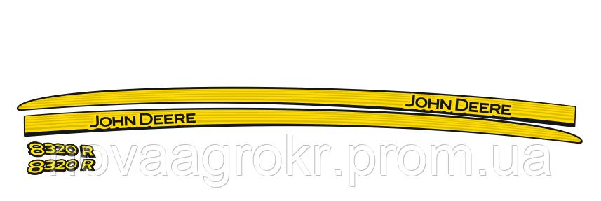 Комплект наклеек на трактор John Deere 8320R