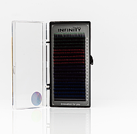 Ресницы INFINITY Ombre (4 цвета)   L 0.10 -12мм, фото 1