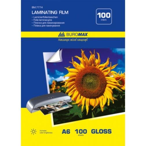Пленка для ламинирования 100 мкм, A6 (111x154мм), 100 шт.(BM7774)