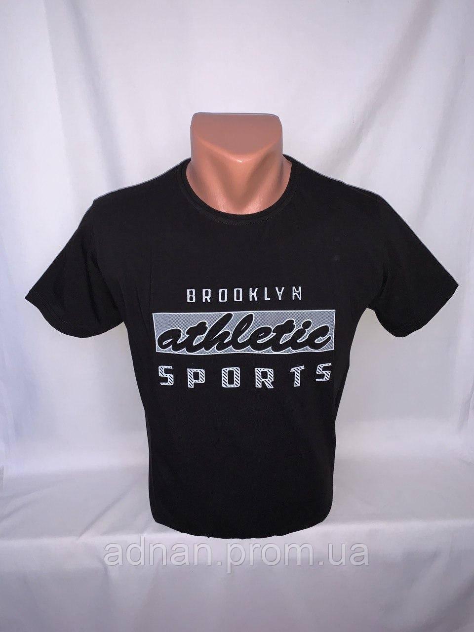 Футболка мужская RBS, накатка стрейч коттон ATHLETIC 006 \ купить футболку мужскую оптом