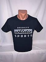 Футболка мужская RBS, накатка стрейч коттон ATHLETIC 007 \ купить футболку мужскую оптом