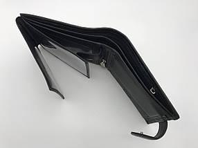 Чоловічий гаманець Монблан портмоне шкіра, фото 2