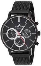 Мужские часы Daniel Klein DK11857-4 черные.