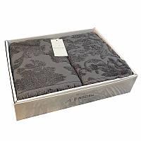 Подарочный набор полотенец Maison Dor SANDA ANTRASIT жаккард