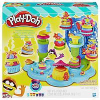 Пластилин Плей До Карнавал сладостей  B1855 Play-Doh Cupcake Carnival Toy