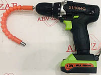Шуруповёрт аккумуляторный Stromo SA-12 Pro EXTRA с гибким валом