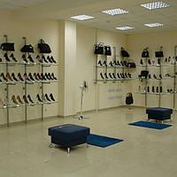 Производство торгового оборудования для магазина обуви на заказ