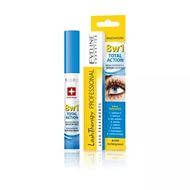 EVELINE cosmetics 10мл LASH THERAPY PROFESSIONAL 8в1 TOTAL ACTION концентрированная сыворотка для ресниц