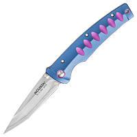 Нож складной Mcusta Katana (длина: 195мм, лезвие: 85мм), синий-пурпурный