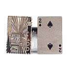 Игральные карты с серебристым покрытием Invotis Euro (GG220), фото 4