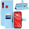 Чехол-книжка Litchie Wallet для Huawei P Smart Plus 2019 / Honor 10i Blue