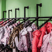 Торговая мебель для магазина детской одежды на заказ
