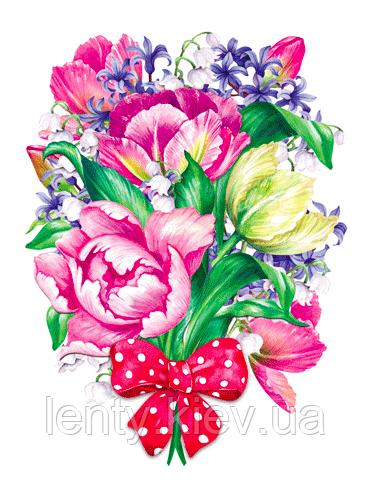"""Вырубка средняя увеличенная """"Букет цветов"""" 31х23"""