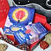 Подарочный набор Люблю до місяця шоколад и чай 2в1