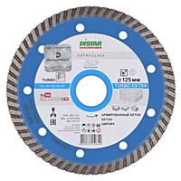 Диск алмазный Turbo 125*22.2 Extra Distar для сухой резки средне армированного бетону