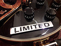Шильд значек эмблема украшение шильдик для электрогитары автомобиля авто limited edition
