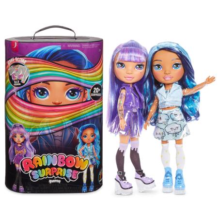 Кукла сюрприз Фиолетовая или Голубая Леди Amethyst Rae or Blue Skye