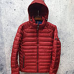 Чоловіча куртка vinyl Black C19-1315C, фото 4
