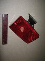 Фонарь задний красный универсальный прямоугольный (задняя противотуманка) (ОСВАР). 244.3716-01