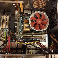 БУ комплект для апгрейдаGigabyte GA-EP43 Intel Xeon E5440 4х2Gb 8G DDR2 охлаждение Pccooler V6