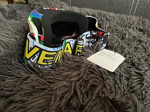Яркая сноуборд лыжная Маска очки под шлем мото вело, фото 2