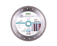 Диск алмазный Distar Turbo 230*2.6*9*22.2 Bestseller Universal для сухой резки средне армированного бетона