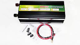 Преобразователь 12v-220v 9000W (рабочая 8200w, пиковая 9000w) Инвертор