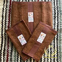 Лечебный комплект пояс и наколенники из верблюжьей шерсти - Турция
