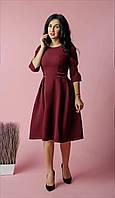 Красивое платье бордового цвета, фото 1