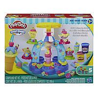 Пластилин Плей До Фабрика мороженого B0306 Play-Doh Sweet Shoppe Swirl and Scoop Ice Cream , фото 1