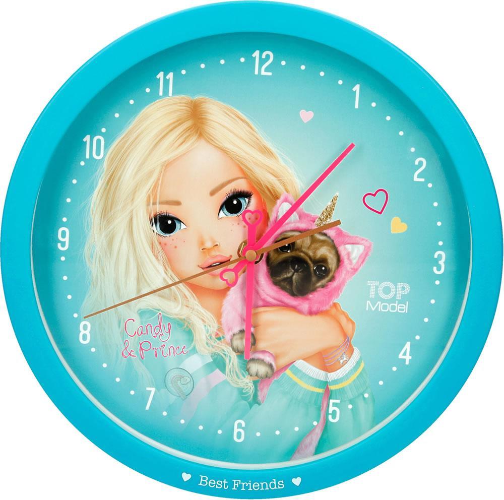 Годинник настінний Top Model Кенді і Принц ( Часы настенные Top Model Кенди и Принц )