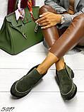 Жіночі демісезонні черевики - лофери Лоро, натуральна шкіра і замш, фото 3