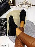 Жіночі демісезонні черевики - лофери Лоро, натуральна шкіра і замш, фото 6