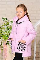 Стильная красивая детская демисезонная куртка на девочку. 32-42р.