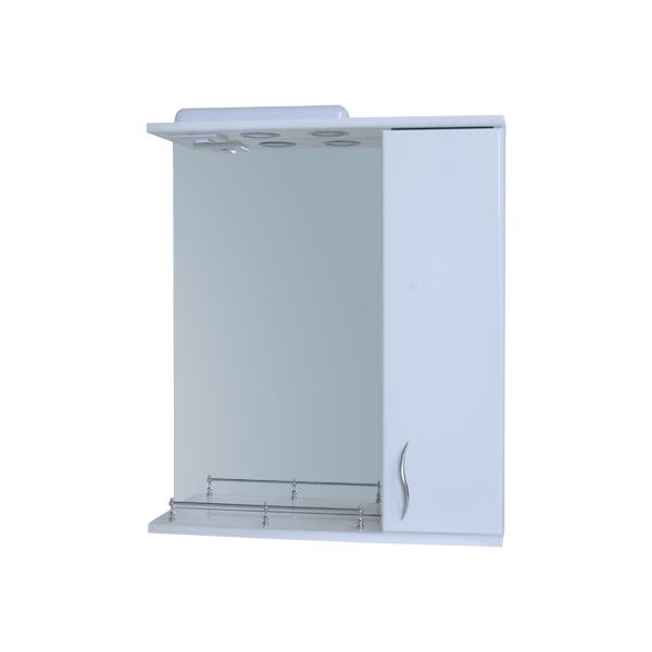 Зеркало для ванной комнаты Базис 60-02 правое ПИК+ Бортик