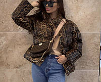 Шкиряная жиноча курточка гарна модная короткая эко кожа модная стильная женская куртка