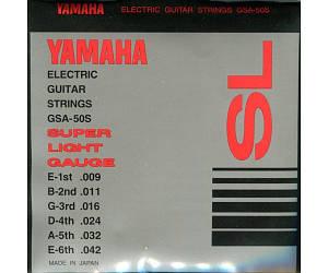 YAMAHA GSA50S Струны для электрогитары (.009-.042)