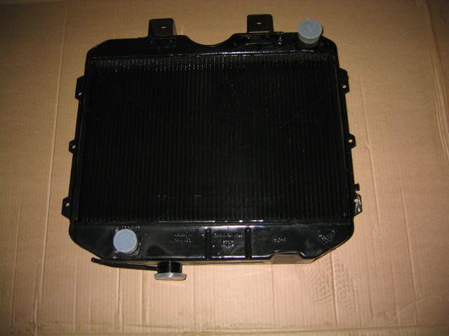 Радиатор охлаждения УАЗ (2-х рядный) (ШААЗ). 3741-1301010-05