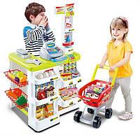 Детский набор 668-03 Супермаркет с корзиной и аксессуарами