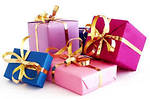 Широкий выбор подарков