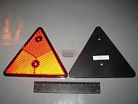 Катафот МАЗ треугольный красный ТН-109 (Руденск). 3232.3731