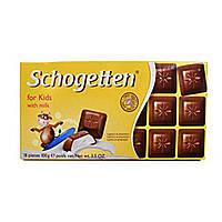 Шоколад schogetten for kids with milk (молочна для дітей) 100г