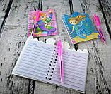 Блокнот с ручкой А6 Лама фигурный Линия 799-3 10-155, фото 3