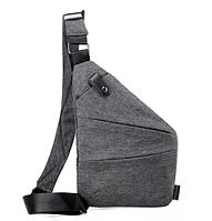 Мужская сумка через плечо, мессенджер Cross Body (Кросс Боди)