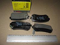 Колодки тормозные задние HYUNDAI ACCENT, i30, (Bosch). 0 986 494 140