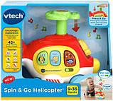 VTech Интерактивный развивающий вертолет 80-513900 Spin & Go Helicopter Red, фото 2